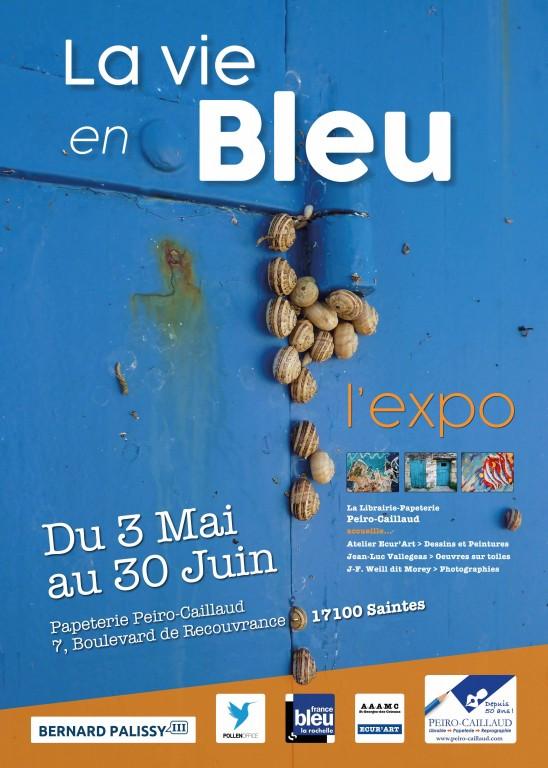 Expo la vie en bleu
